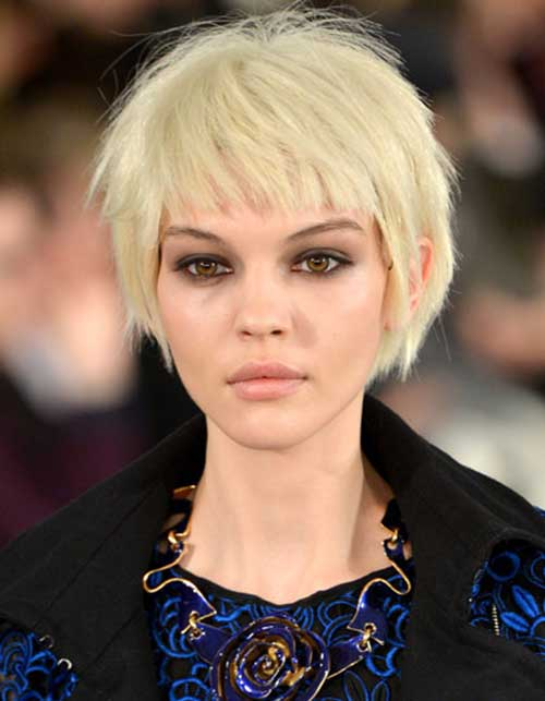 Short Haircuts for Thick Straight Blonde Hair