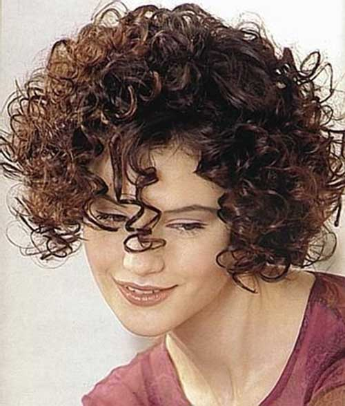 Short Hairstyles For Curly Frizzy Hair