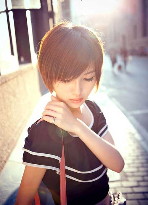 Short Hairstyles for Asian Bob Hair
