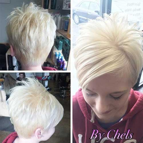Short Blonde Hairstyles for Fine Straight Hair