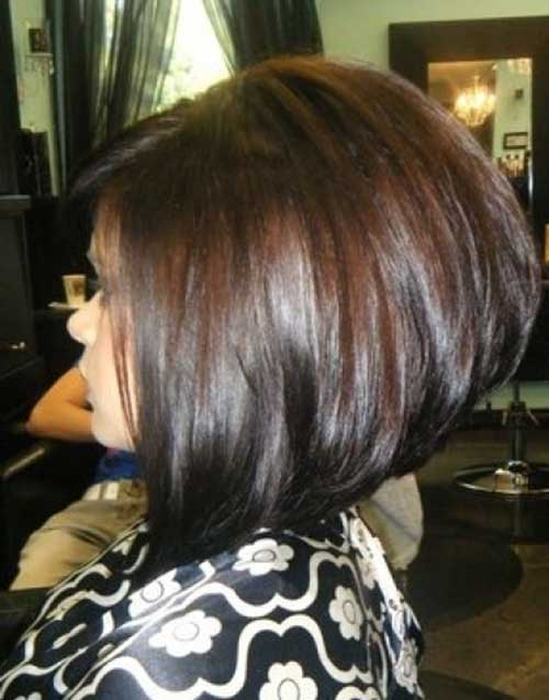 Short Hairstyles for Thick Straight Bob Hair