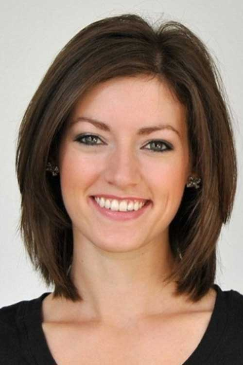 Short Lenght Straight Bob Haircuts 2014