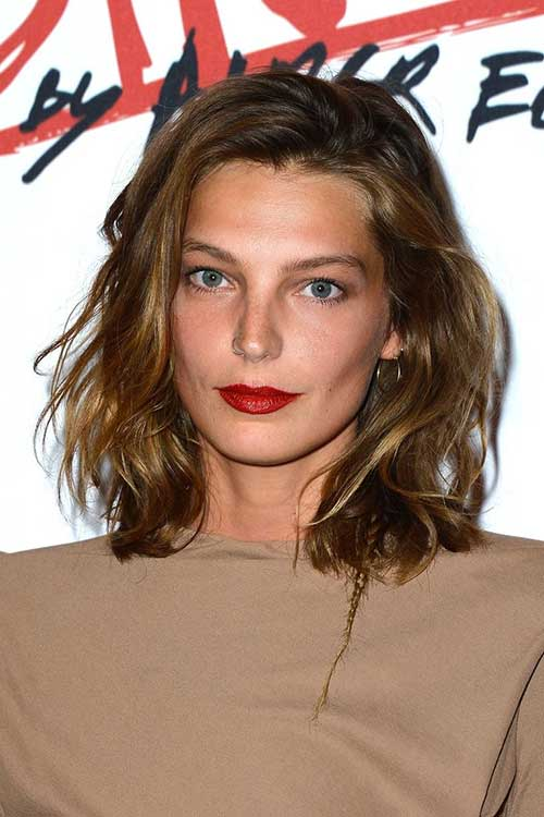 Short Medium Haircuts with Waves