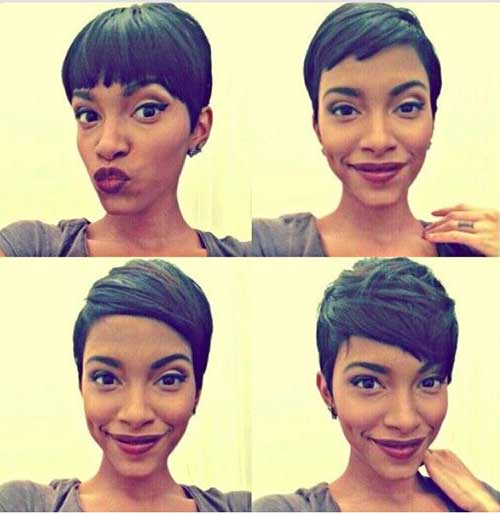 Short Nice Pixie Cropped Haircuts