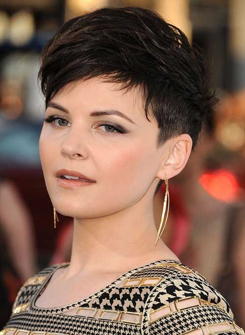 Short Pixie Dark Hairstyles