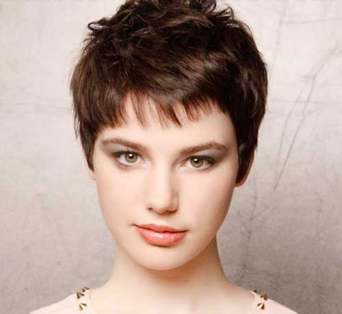 Short Pixie Hair for Thin Straight Hair