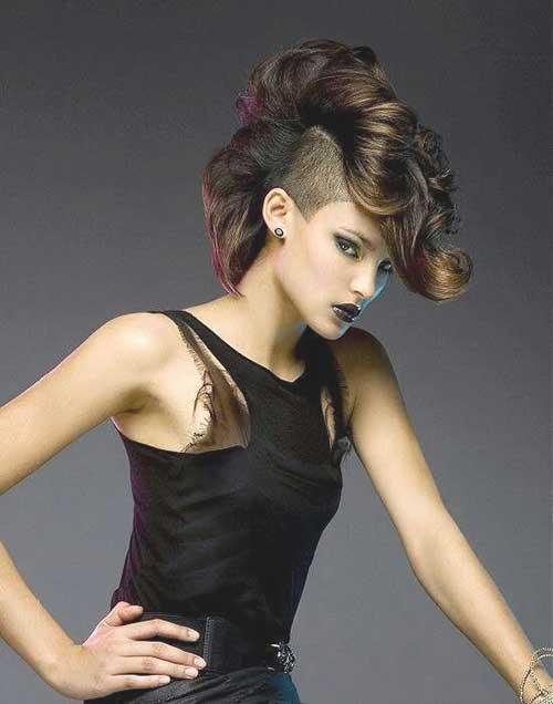 Short Punk Haircuts for Women