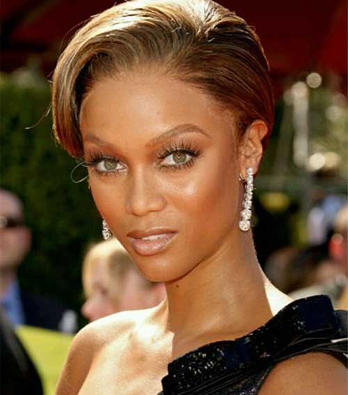 Best Short Slicked Hairstyle for Black Women Over 40