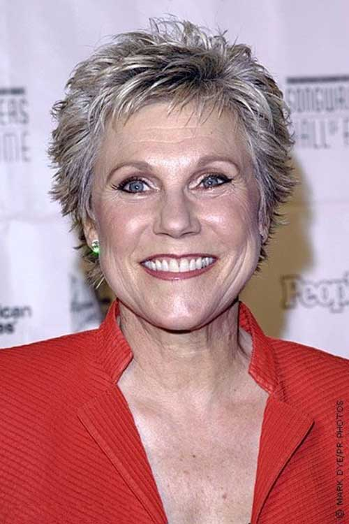 Short Spiky Pixie Hair Cuts for Over 50