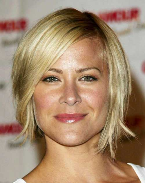 Short Layered Straight Hair for Women Over 40
