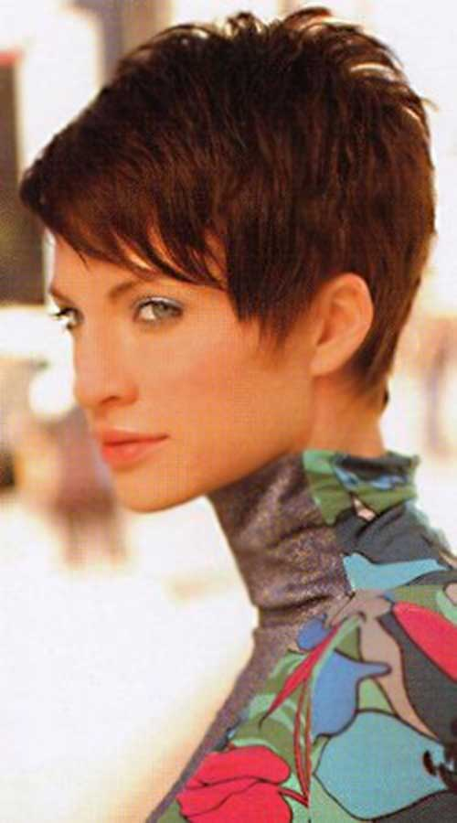 Short Straight Pixie Cropped Trendy Haircuts