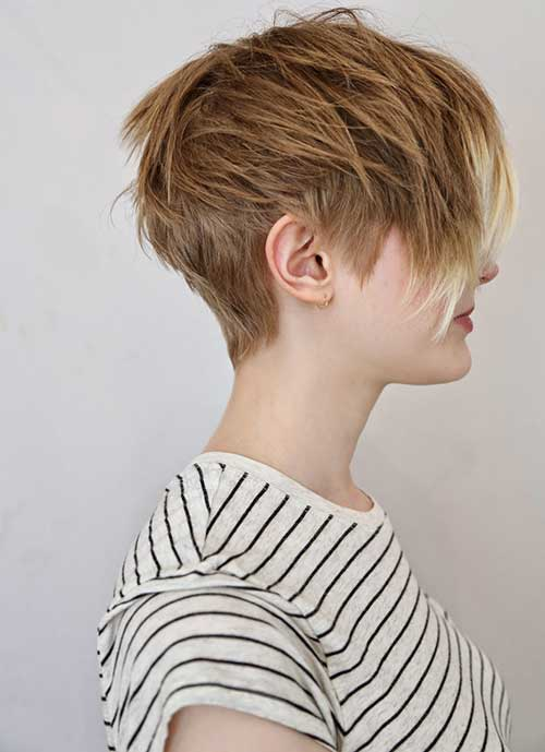 Short Textured Pixie Hair