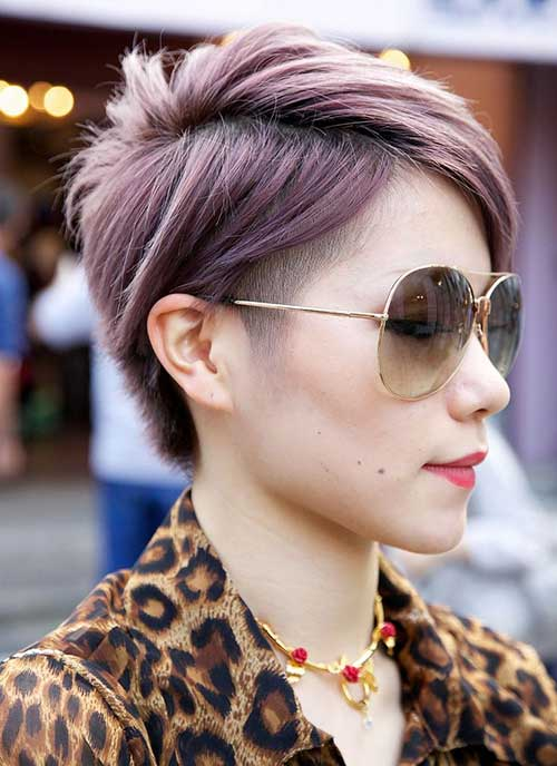 Short Textured Haircut Ideas for Girls