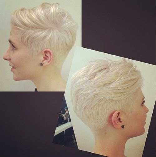 Short Trendy Straight Pixie Cuts