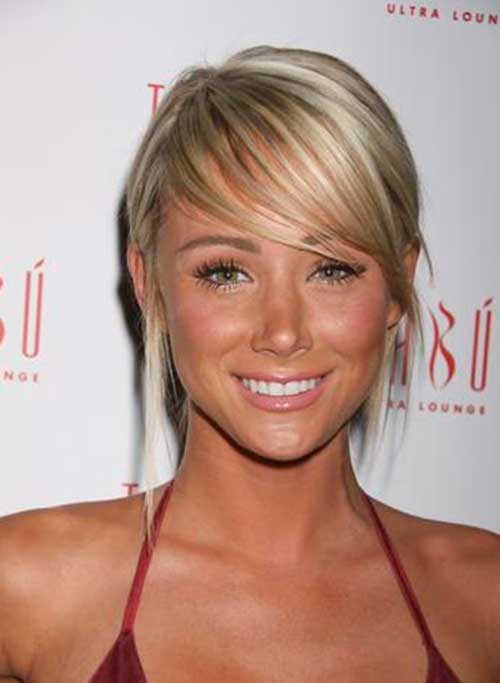 Short Wedge Blonde Haircuts