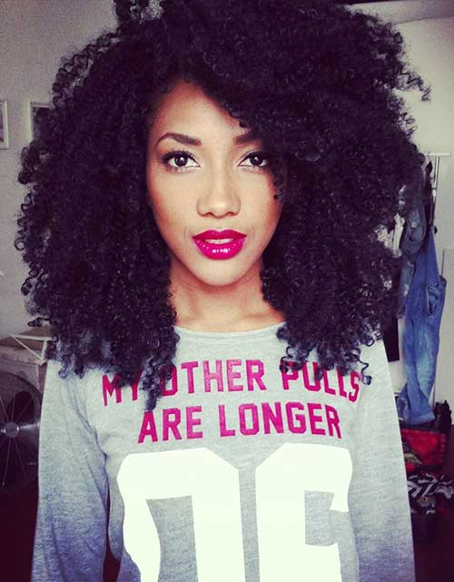 Sensational 15 Short Curly Afro Hairstyle Short Hairstyles 2016 2017 Short Hairstyles Gunalazisus