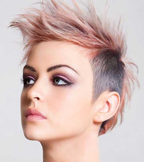 Spiky Short Punk Haircuts