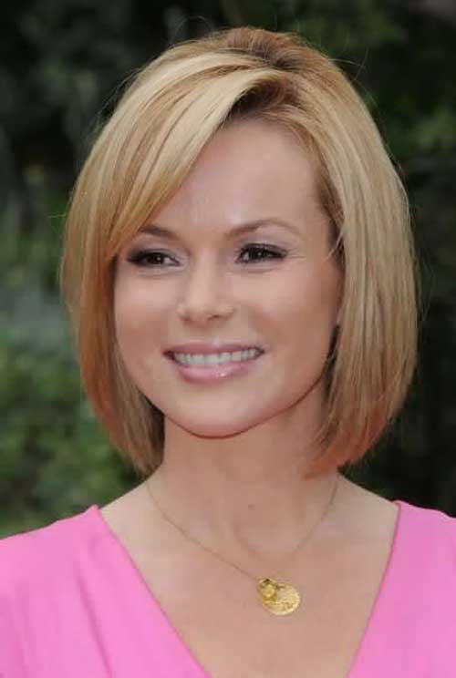 Straight Fine Short Hair for Women Over 40
