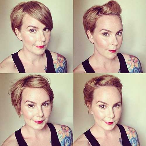 Straight Pixie Short Cut Ideas