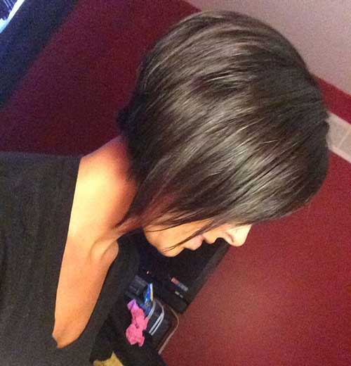 Straight Short Brown Haircuts Idea