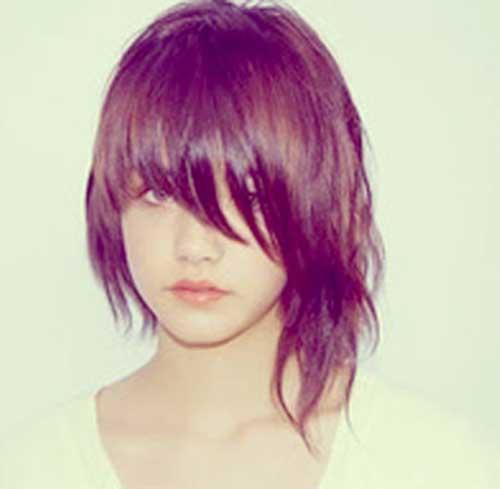Textured Short Layered Haircuts