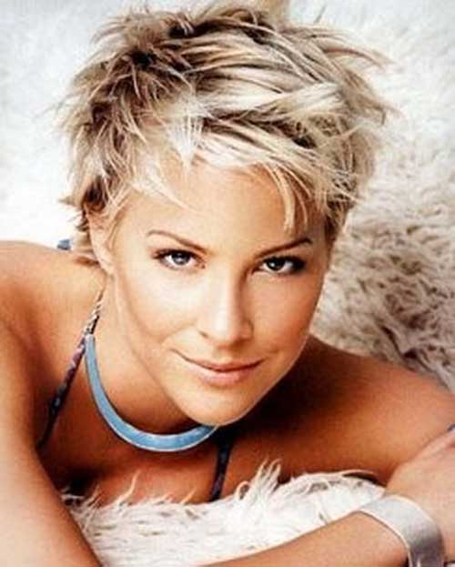 Nice Textured Short Pixie Haircuts for Women