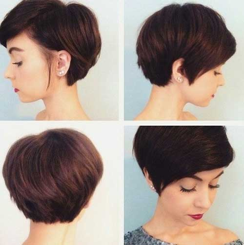 Thick Short Cropped Haircuts