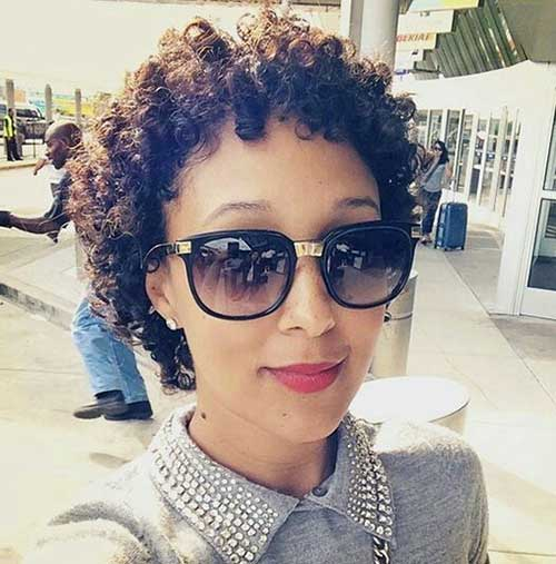 Very Short Curly Weave Hairstyles
