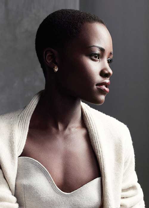 Very Short Shaved Hair Ideas for Women