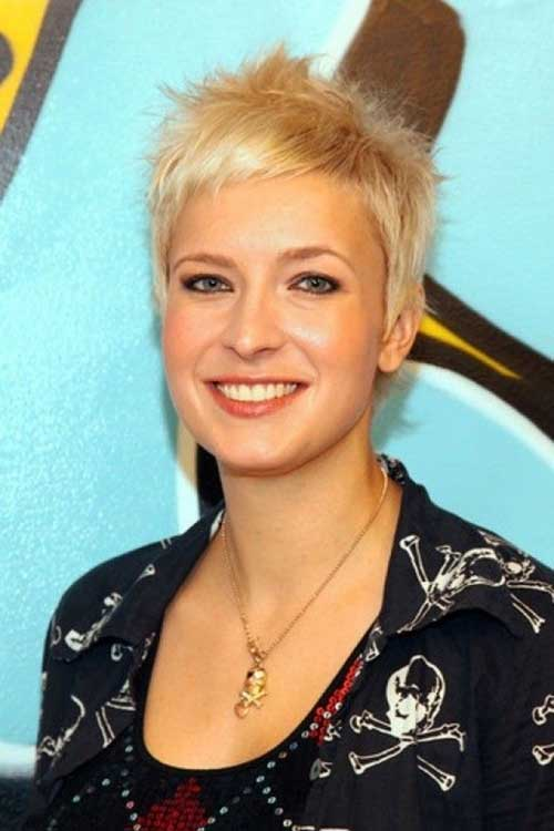 Very Short Spiky Haircut for Women