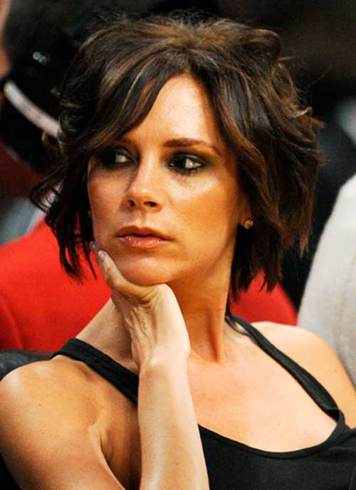 Best Victoria Beckham Bob Hairstyles Celebrity Short Haircuts