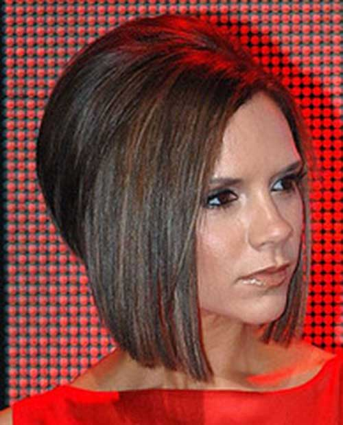 Victoria Beckham Bob Haircut Side View