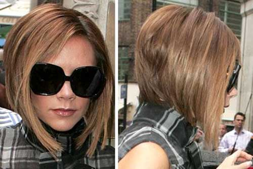 Victoria Beckham Graduated Bob Cut and Back