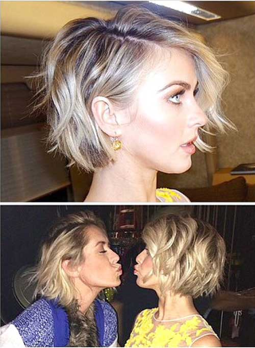 Wavy Short Haircut Ideas