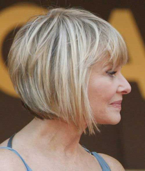 Best Angled Bob Hairstyles Short