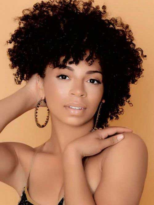 Short Natural Hairstyles for Black Women-10