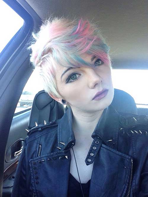 Hairstyles for Girls with Short Hair-12