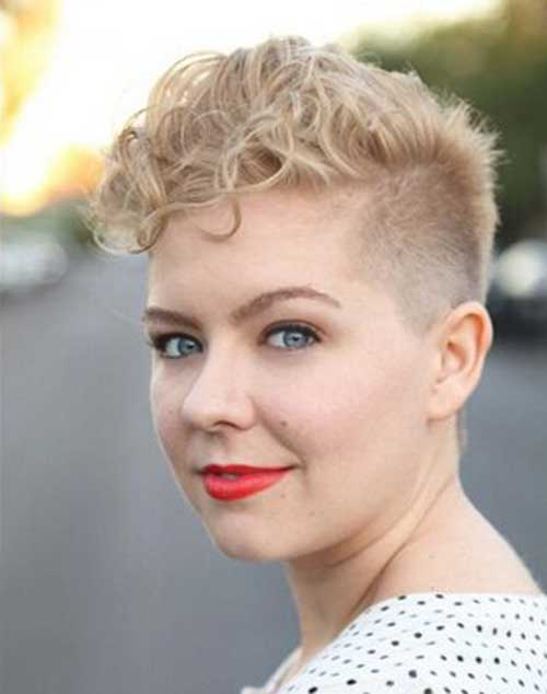 Very Short Curly Hairstyles-12