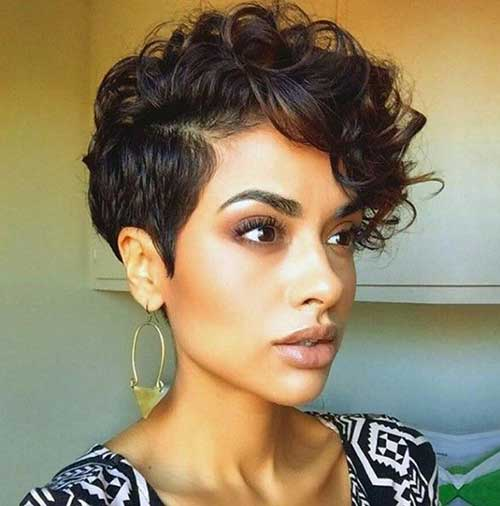 Very Short Curly Hairstyles-13