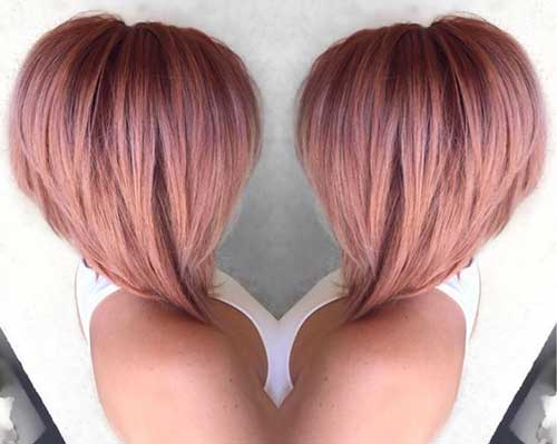 Hair Colors for Short Hair-13