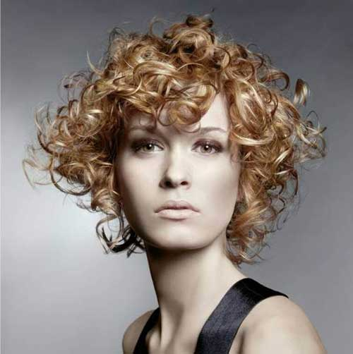 Very Short Curly Hairstyles-14