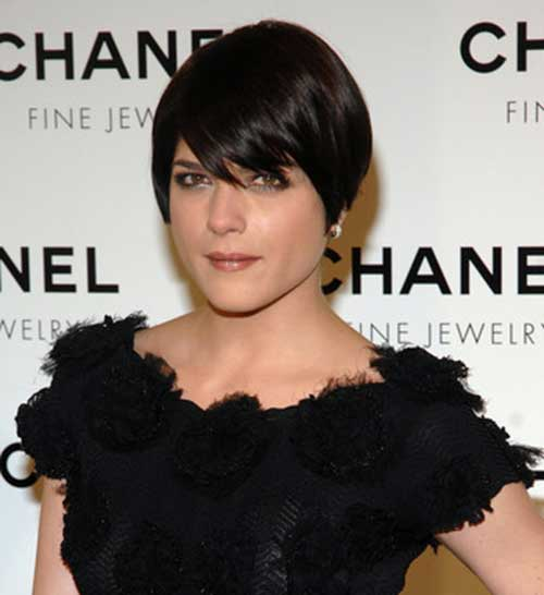 Short Hair with Bangs-14