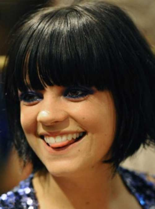 Bob Hairstyles with Bangs-15