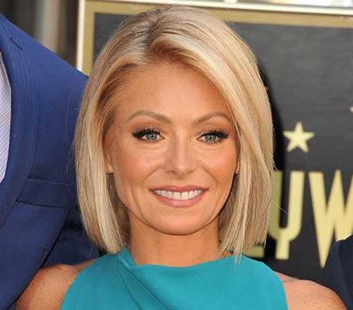 kelly ripa new haircut 20 chic hairstyles crazyforus 1776 | 15.Celebrity Short Hairstyle