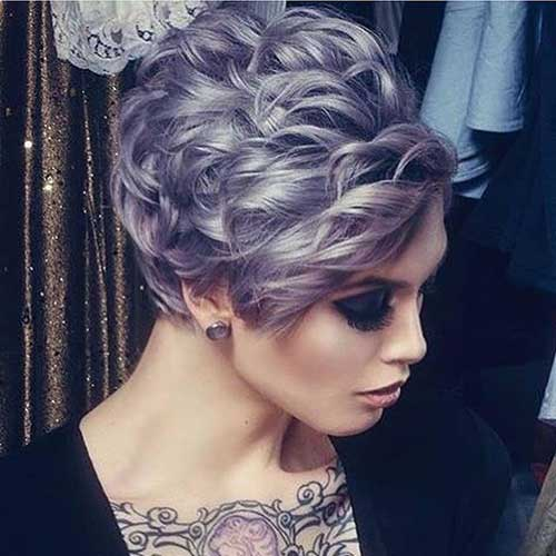 Hair Colors for Short Hair-15