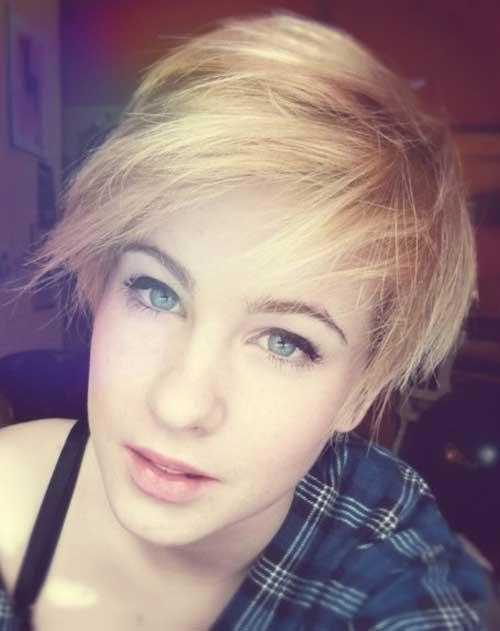 Short Hair Colours-16