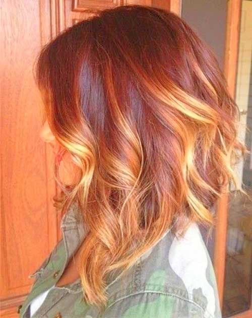 20 Nice Hair Color For Short Hair Short Hairstyles 2017