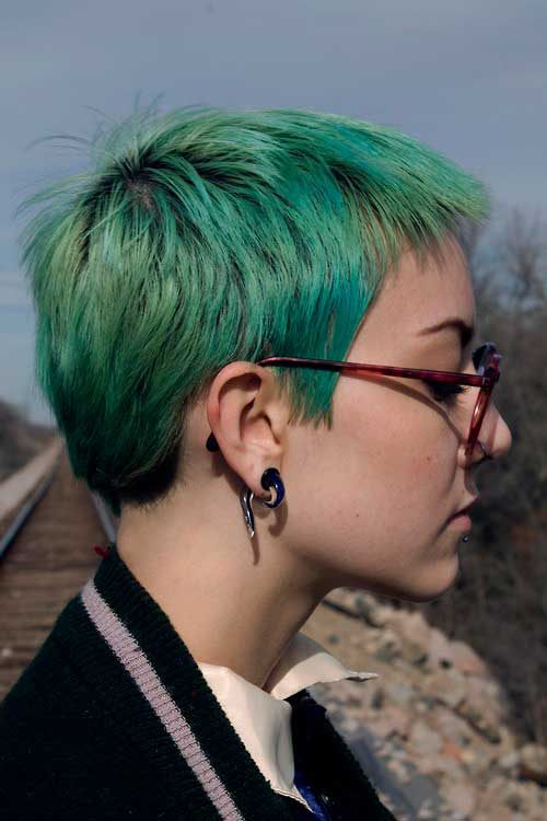 Short Hair Colours-17