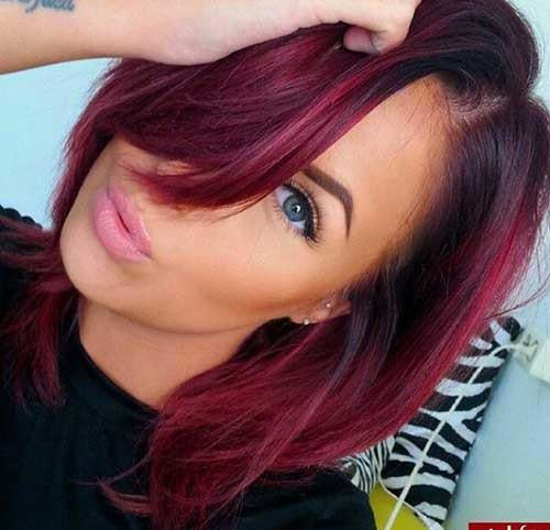 Hair Colors for Short Hair-17