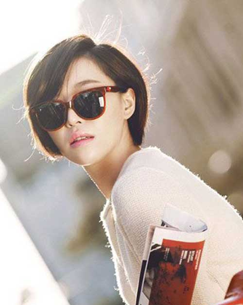 Short Hairstyles for Fine Straight Hair-17
